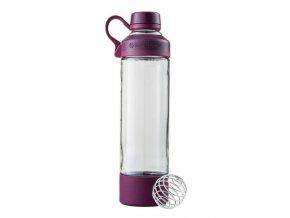 Blender Bottle Mantra Glass 600ml fialová