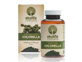 Ekolife Natura Algae Chlorella Organic 240 tablet (Bio řasa chlorella)
