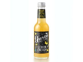 Gusto Organic Gusto Organic Lemon Energy 250ml