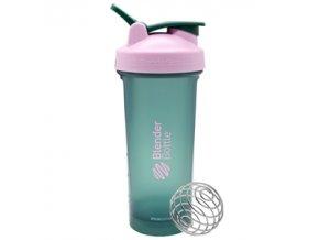 BlenderBottle Šejkr Classic Loop Special Edition 820ml zeleno růžový
