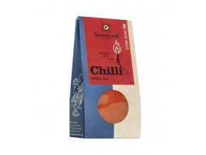 SONNENTOR Chilli extra ostré, mleté (Kayenský pepř) bio, Capsicum frutescens 40g