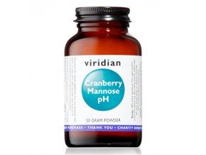 Viridian Cranberry Mannose pH 50g (Brusinky, manóza a draslík)