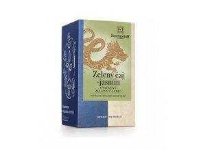 Sonnentor Zelený čaj - jasmín ovoněný zelený čaj bio (obsahuje kofein) 27g