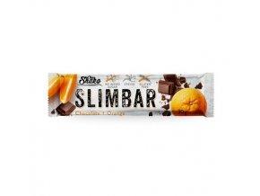 ChiaShake Dietní tyčinka SLIMBAR čokoláda+pomeranč 30 g