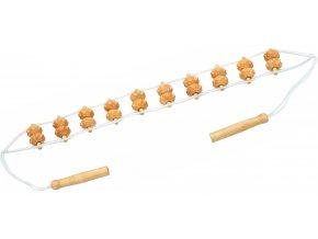 916 dreveny masazni pas na zada