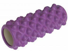 1096 fitness masazni valec 33 x 14 cm fialovy
