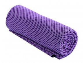 715 3 chladici rucnik fialovy 32 x 90 cm
