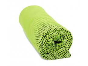 406 3 chladici rucnik zeleny 32 x 90 cm