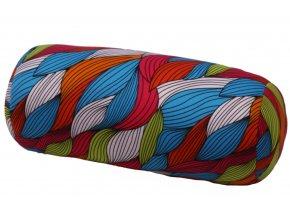1306 relaxacni polstar valec barevne listy