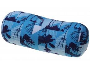 1321 relaxacni polstar valec modre palmy