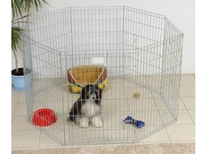Ohrádka pro psa. Výška 90 cm. Plocha 1,44 m