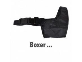 Fixační náhubek - nylon - Boxer