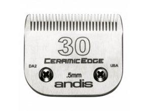 Keramická střihací hlava Andis Size 30. Výška 0,5 mm