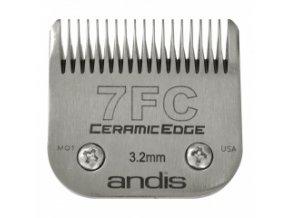 Keramická střihací hlava Andis Size 7FC. Výška 3,2 mm