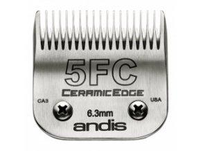 Keramická střihací hlava Andis Size 5FC. Výška 6,3 mm