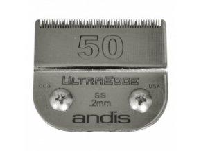 Střihací hlava Andis Size 50 SS. Výška 0,2 mm