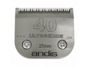 Střihací hlava Andis Size 40. Výška 0,25 mm