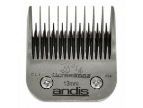 Střihací hlava Andis Size 3 ¾ . Výška 13 mm