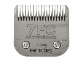 Střihací hlava Andis Size 7FC. Výška 3,2 mm
