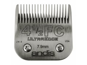 Střihací hlava Andis Size 4 ½ FC. Výška 7,9 mm