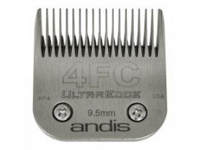 Střihací hlava Andis Size 4FC. Výška 9,5 mm