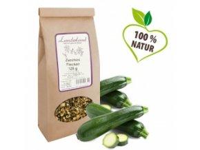 Zelenina pro psy a kočky - Cuketové vločky - 125 g