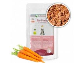 Kapsička pro kočky - Kuřecí maso s kamutem - Bio - 100 g