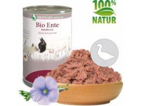 Konzerva pro psy a kočky - Kachní maso (Bio) 400 g