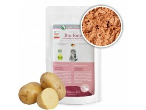Kapsička pro kočky - Kachní maso s bramborem - Bio - 100 g