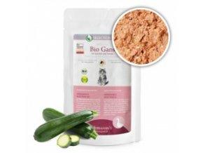 Kapsička pro kočky - Husí maso s cuketou - Bio - 100 g
