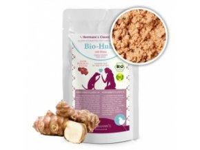 Kapsička pro psy - Kuřecí maso s jáhly a zeleninou (Bio) 130 g