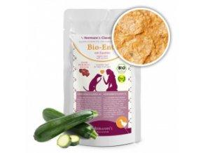 Kapsička pro psy - Kachní maso s cuketou (Bio) 130 g