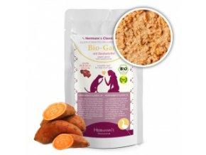 Kapsička pro psy - Husí maso s batáty (Bio) 130 g
