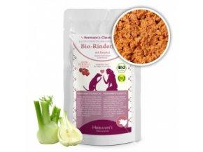 Kapsička pro psy - Hovězí srdce s fenyklem (Bio) 130 g
