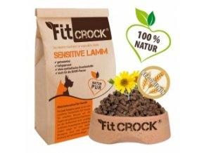 Fit-Crock Sensitive Jehněčí - granule lisované za studena