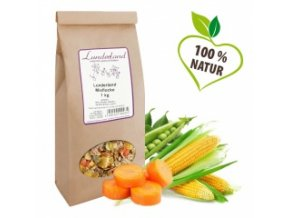 Vločkový mix + 30 % zeleniny