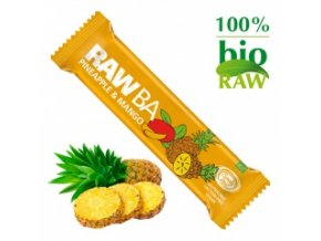RAW Tyčinka ananasová s mangem BIO 40 g