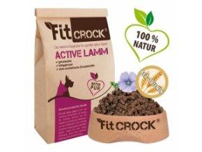 Fit-Crock Active Jehněčí - granule lisované za studena