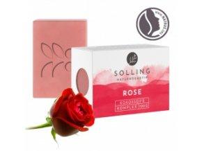 Přírodní mýdlo - Růže - BioKvalita - 100 g