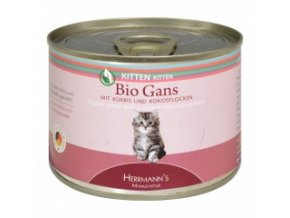 Konzerva pro kočky - Husí maso - Bio - 200 g
