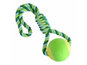 Provazová hračka - míč s lanem
