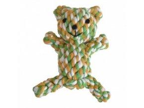 Provazová hračka - medvídek - 11 cm