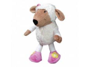 Plyšová hračka – bílá ovečka – 28 cm