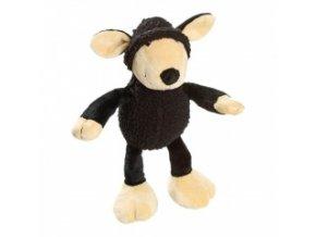 Plyšová hračka – černá ovečka – 25 cm