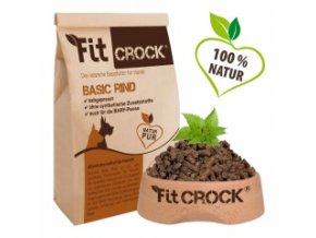 Fit-Crock Basic Hovězí - granule lisované za studena