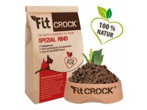 Fit-Crock Special Hovězí - granule lisované za studena