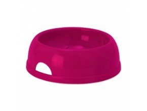 Miska pro psy - plastová, červená - průměr 25 cm / 1450 ml