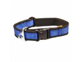 Nylonový obojek – popruh modrý 43 až 74 cm / 40 mm