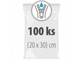 Uzavíratelné sáčky 20 x 30 cm 100 ks