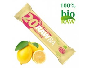 PROTEIN Tyčinka Citron & Spirulina BIO 40 g